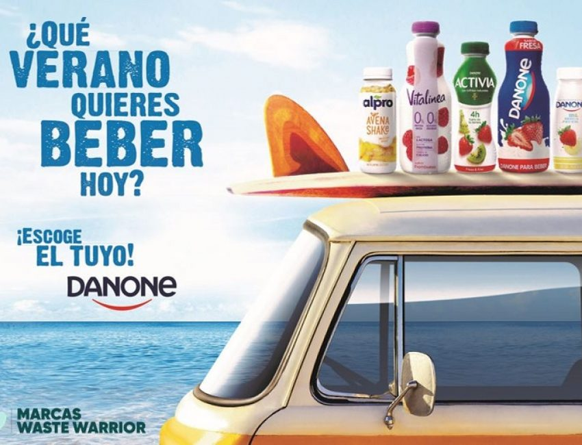GRUPO DANONE – Yogures Bebibles