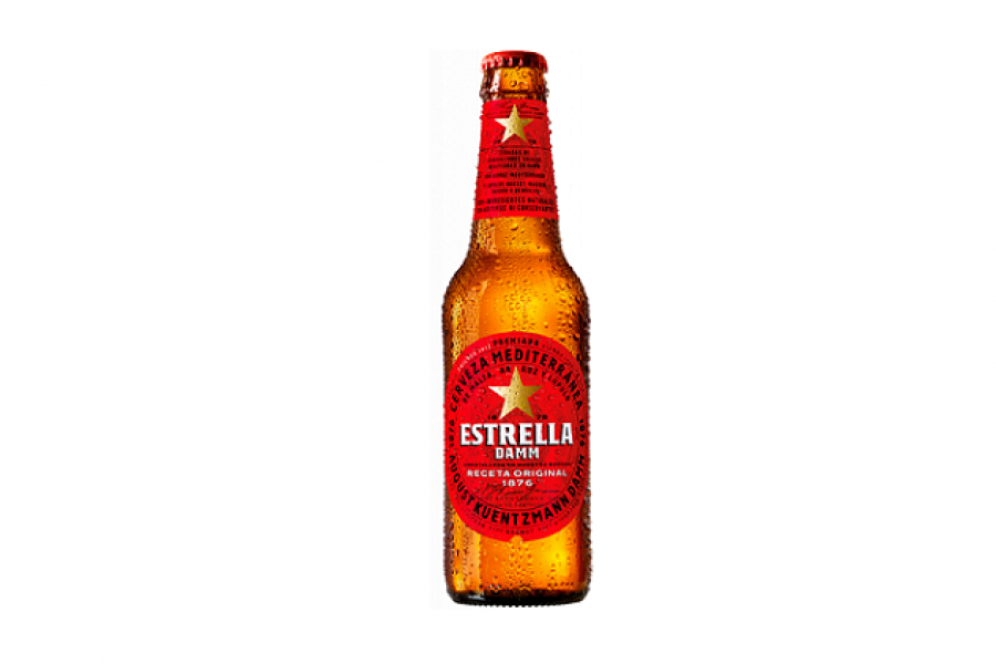 GM DISTRIBUCIÓN – Botella Estrella Damm No Reciclab. 33cl.
