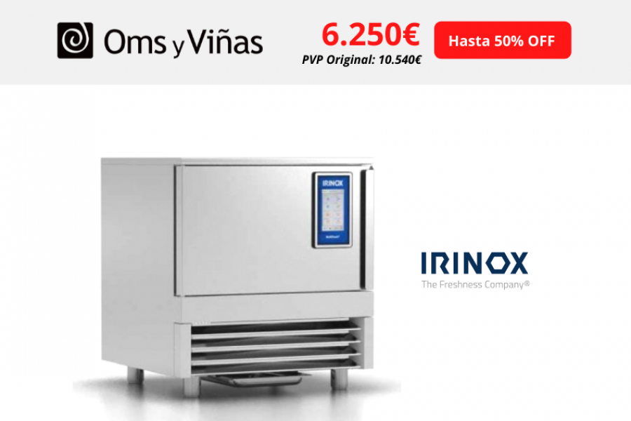 Irinox – Abatidor de temperatura Multifresh MF-25.1 PLUS hasta 50% de descuento ¡Compra ya!